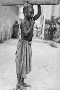 Slave at Zanzibar Slave Market